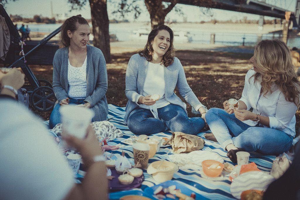 Picknick mit frauen