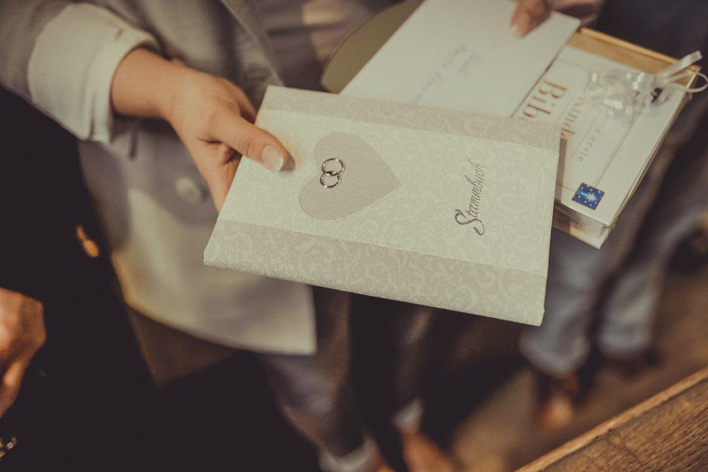 Stammbuch für eine taufe